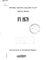 National Scientific Balloon Facility Annual Report FY 1979