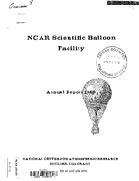 NCAR Scientific Balloon Facility Annual Report 1969