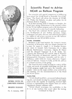 Scientific Ballooning, January 1962
