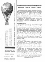 Scientific Ballooning, March 1962
