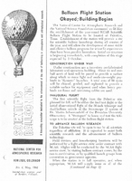 Scientific Ballooning, May 1962