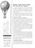 Scientific Ballooning, May 1963
