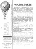Scientific Ballooning, September 1963