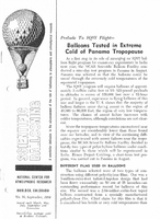 Scientific Ballooning, September 1964
