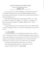Minutes of the Executive Committee, March 17, 1960, Washington, D. C.