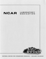 Commemorative Program for NCAR Lab Dedication, May 1967