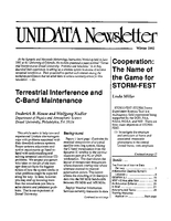UNIDATA Newsletter Winter 1992