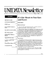 UNIDATA Newsletter Winter 1994