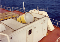 Photograph, shipboard sounding system