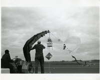 Photograph, early Mother Ghost test flights in Christchurch, New Zealand