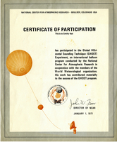 GHOST Participation Certificate