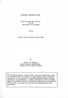 Quarterly Research Report 1955-2