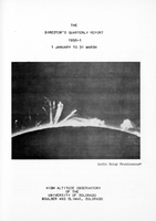 The Director's Quarterly Report 1956-1