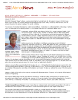 NCAR scientist Peggy LeMone assumes presidency of American Meteorological Society