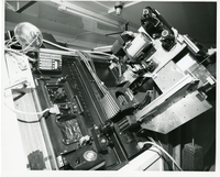 Photograph, Spectrograph, camera and slit