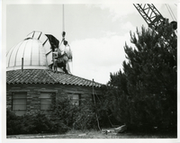 Photograph, Boller and Chivens Cassegrain-Coude telescope