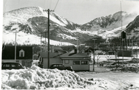 Photograph, winter at Climax