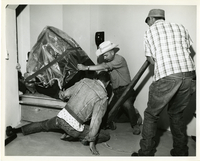 Photograph, Installation of spectrograph