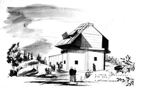 Photograph, Drawing of Climax Observatory