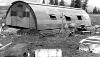 Photograph, Quonset hut