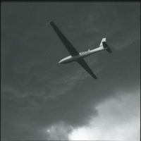 Photograph, National Hail Research Experiment research aircraft