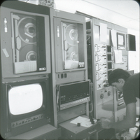 Photograph, National Hail Research Experiment control equipment