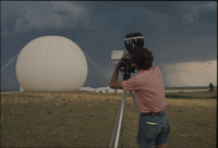 Photograph, National Hail Research Experiment staff documenting field site