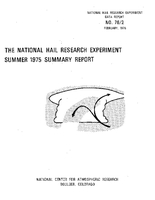 National Hail Research Experiment Summer- 1975 Summary Report