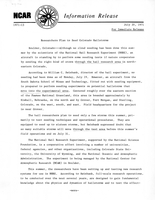 Information Release dated July 20, 1971