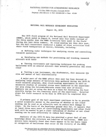 NHRE Newsletter, August 18, 1975
