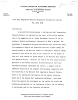 January 1968 Report on Joint Hail Suppression Research Program in Northeastern Colorado