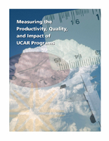 Measuring the productivity, quality and impact of UCAR programs: Report of the UCAR Metrics Committee