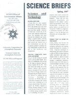 Science Briefs Spring 1997