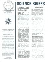 Science Briefs Spring 2000