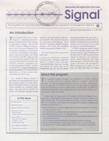 Signal Special Premiere Issue