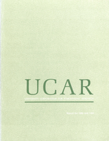 UCAR Report for 1968 and 1969