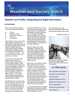 Weather and Society Watch Volume 2 Issue 4