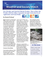 Weather and Society Watch Volume 4 Issue 4