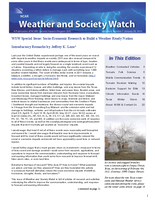 Weather and Society Watch Volume 6 Issue 1