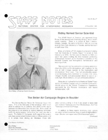 Staff Notes Volume 21 Issue 47