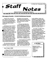 Staff Notes Volume 25 Issue 50