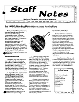 Staff Notes Volume 27 Issue 49