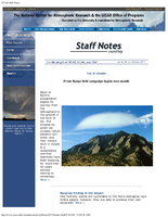 Staff Notes Volume 42 Issue 9