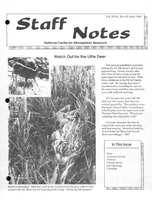 Staff Notes Volume 24 Issue 26