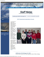 Staff Notes Volume 43 Issue 1