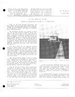 Staff Notes Volume 20 Issue 15