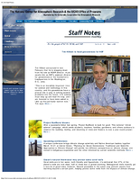 Staff Notes Volume 43 Issue 3