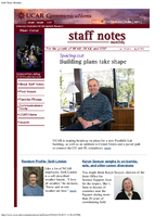 Staff Notes Volume 38 Issue 4