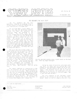 Staff Notes Volume 20 Issue 38