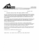 Information Services hosts 1991 spring LASERS at NCAR